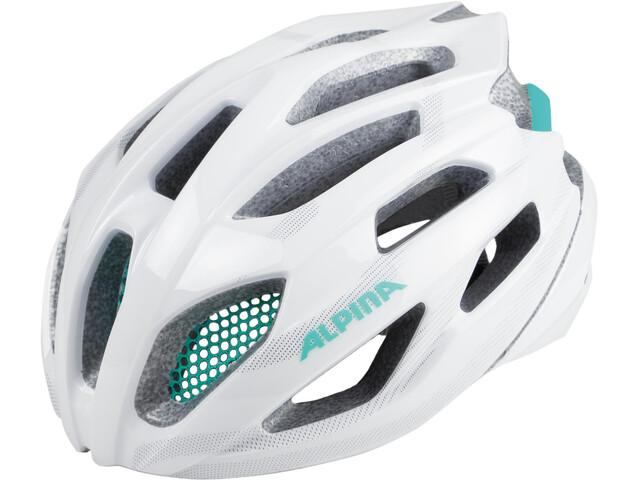 Alpina Fedaia Pyöräilykypärä , valkoinen